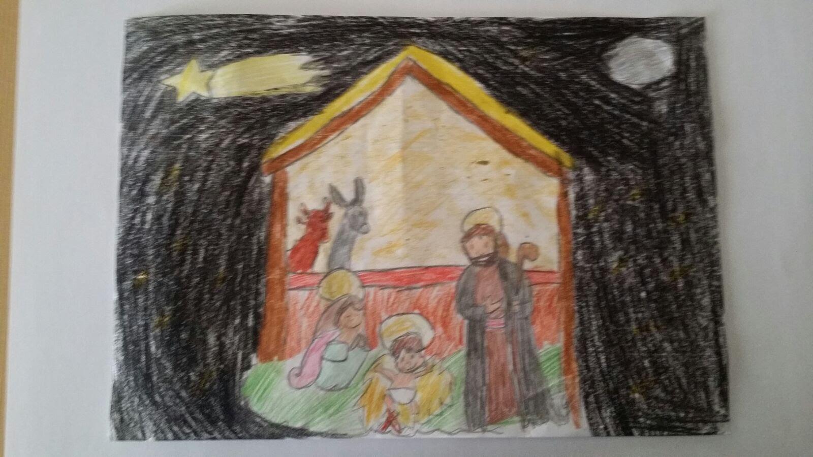 Ganadores del II Concurso Infantil de Dibujo Navidad 2017