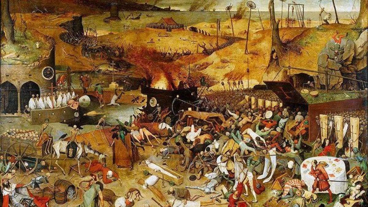 La historia sagrada de las plagas