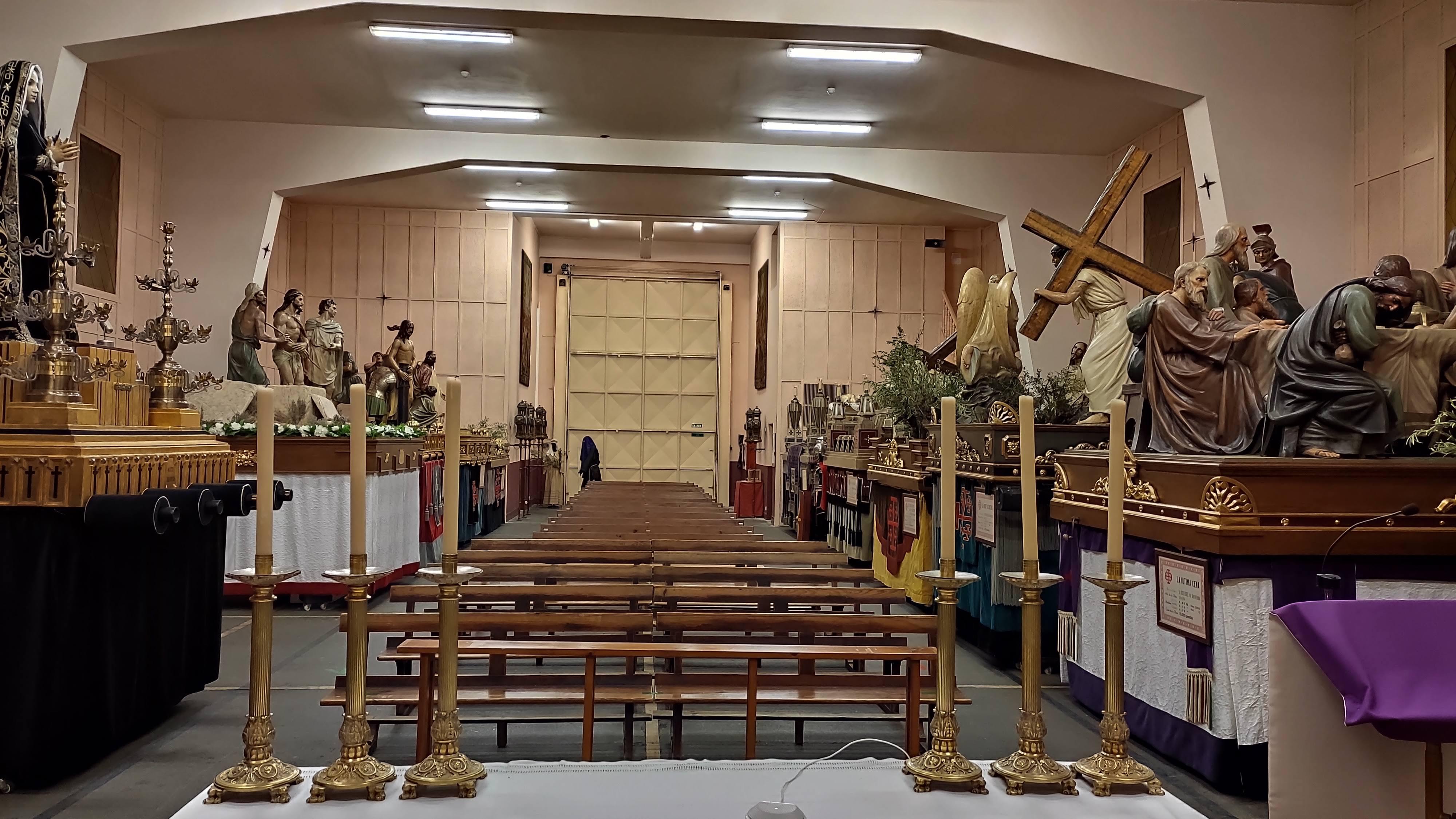 Apertura al público el Domingo de Ramos